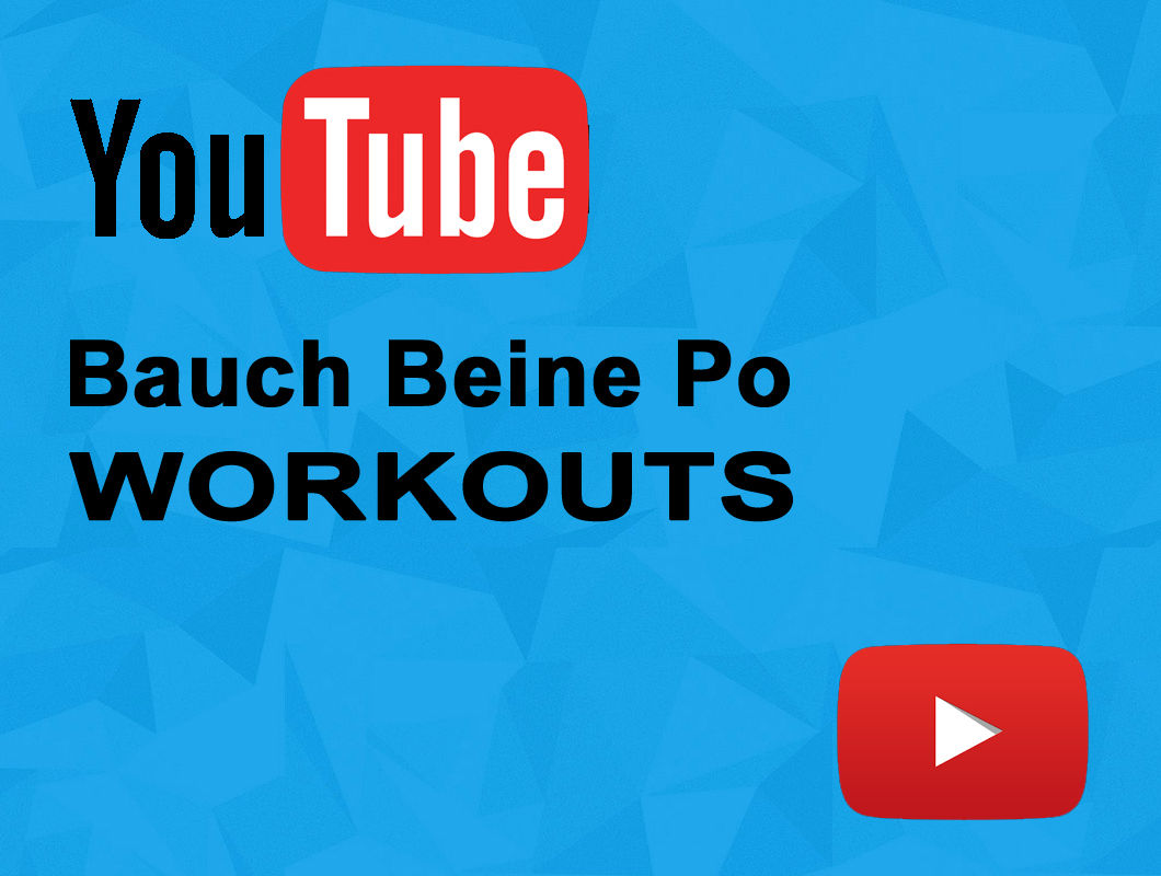top 3 bauch beine po workouts bei youtube po. Black Bedroom Furniture Sets. Home Design Ideas