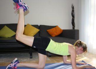 Beinheber Po Übung Fitness