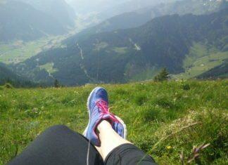Wandern Po straffen Oberschenkel Training