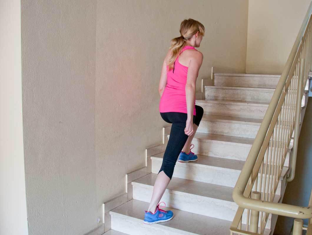 Treppensteigen: Aufwärts zum Knack-Po - WE GO WILD