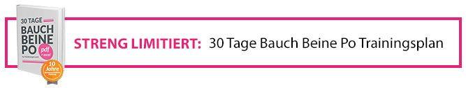 30 Tage Bauch Beine Po Trainingsplan - E-Book von PoÜbungen.com