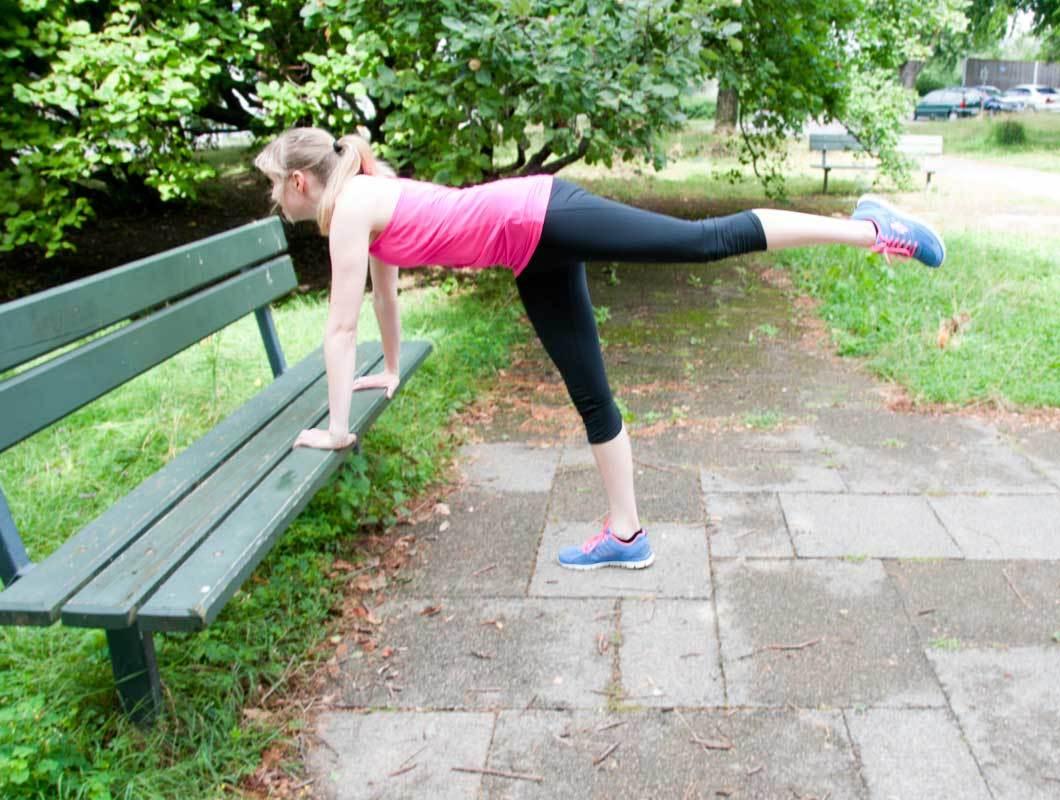outdoor training für den po