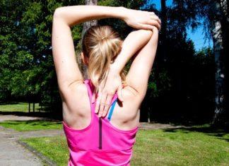 Stretching Übung für den Rücken