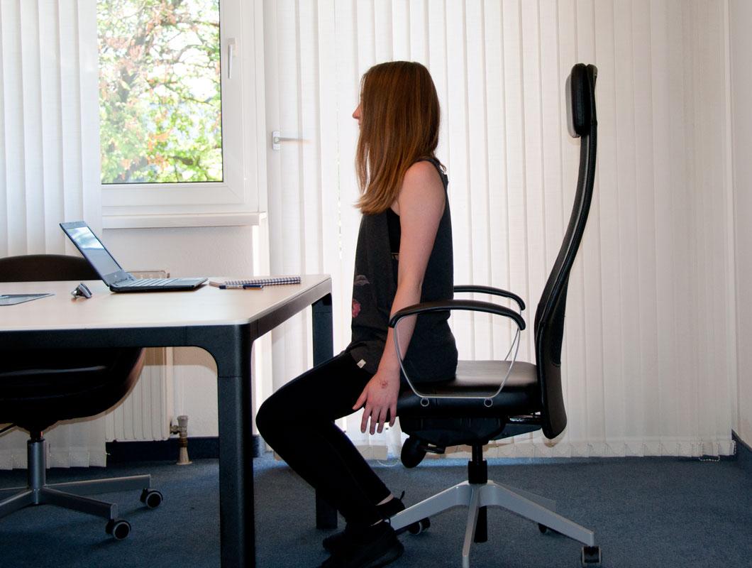 Fit im Büro mit Bürogymnastik