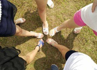 Schlanke Beine Frauen