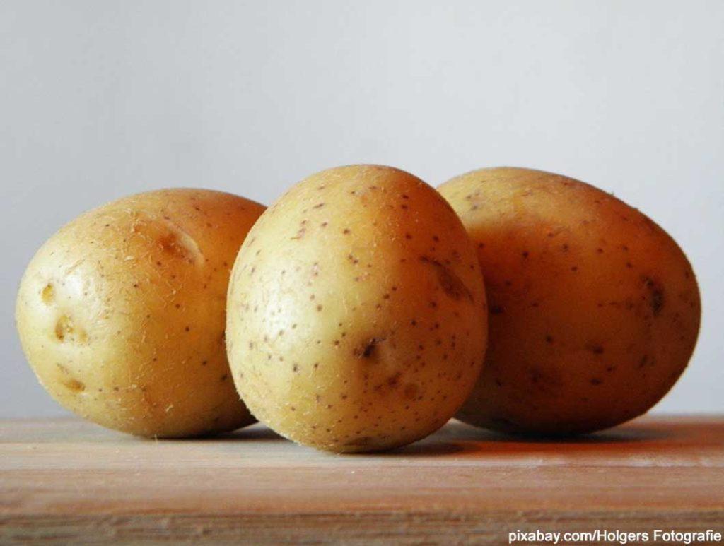 Kartoffeln sind Lebensmittel mit wenig Kalorien