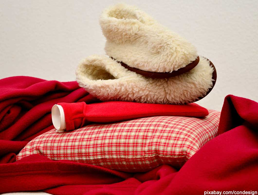 vor dem Schlafengehen entspannen