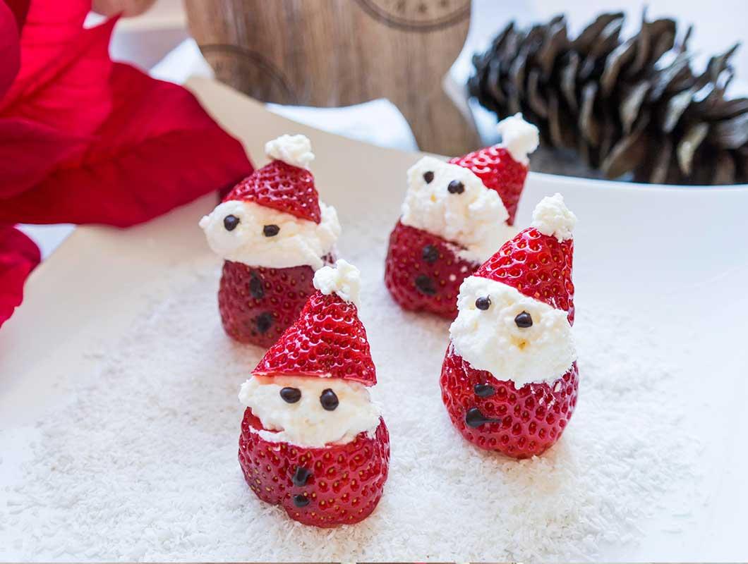 gesundes weihnachtsdessert