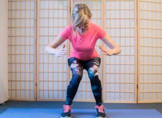 squat fehler knie nach innen