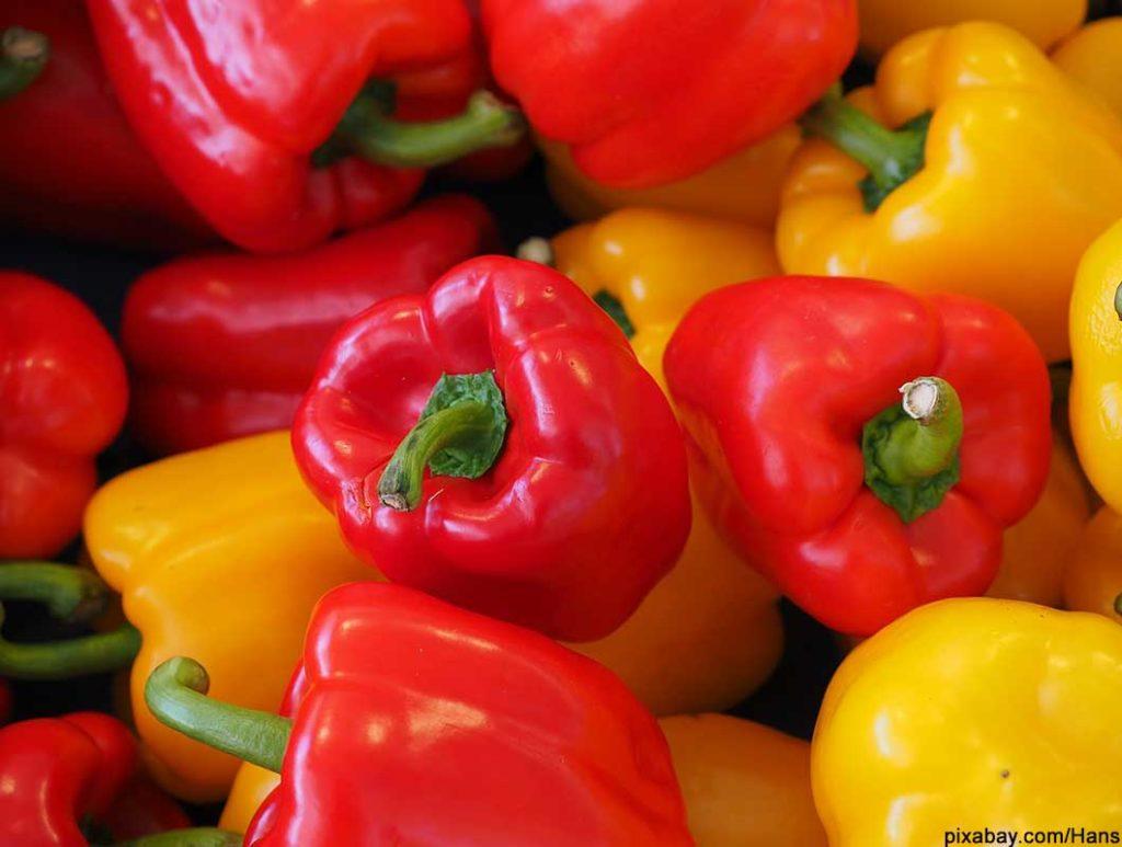 Paprika hat sehr viel Vitamin C