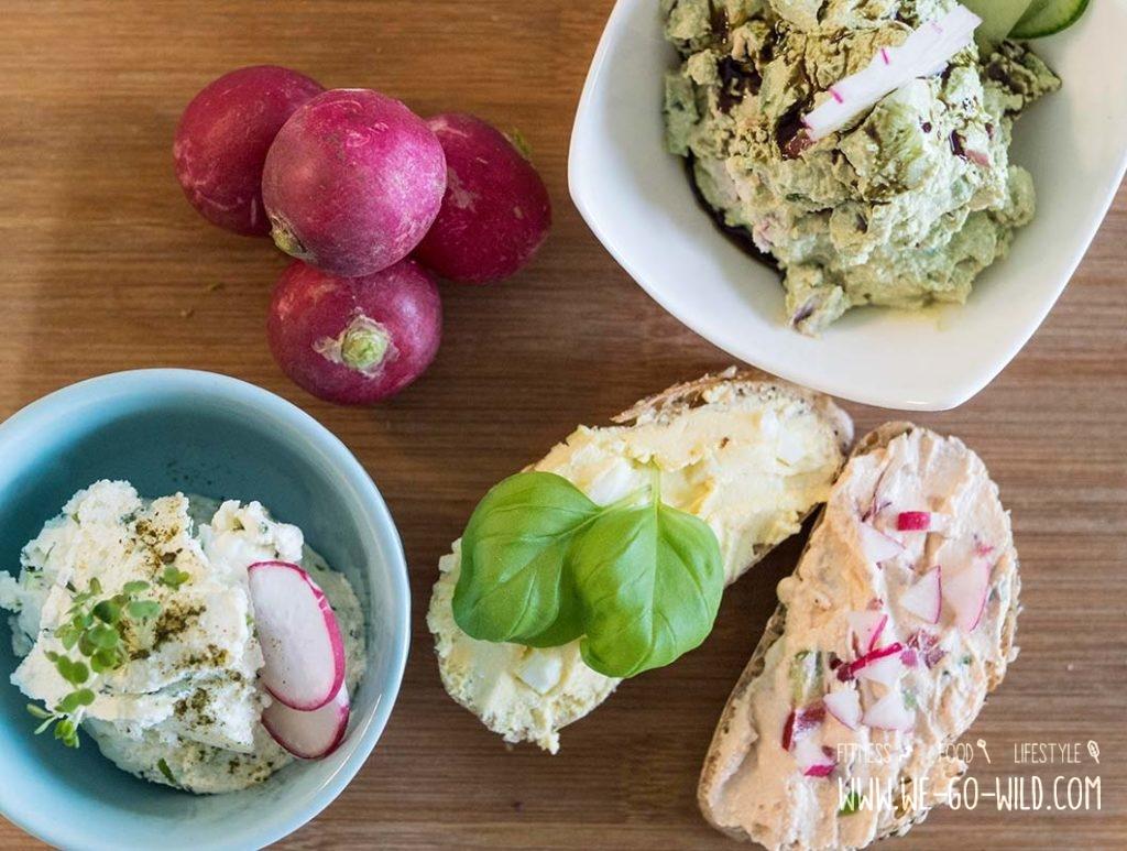 Lebensmittel mit wenig Kalorien: Quark