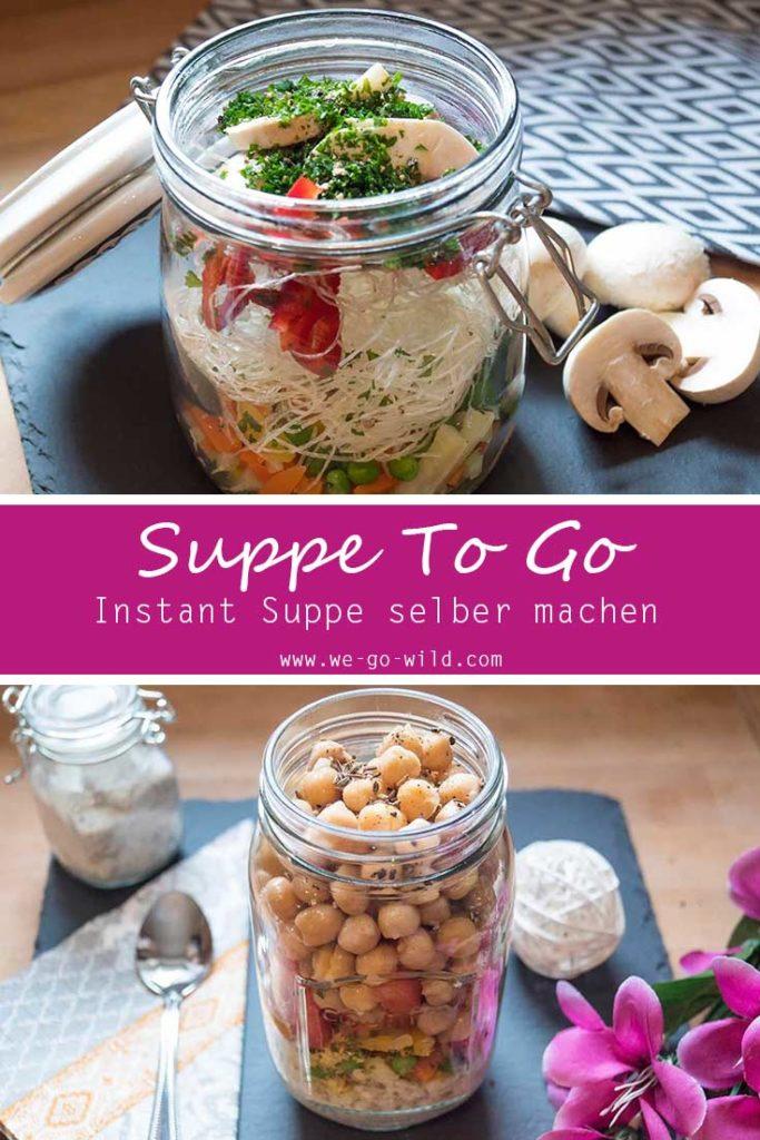Suppe im Glas: 2 leckere Rezepte für Suppe To Go