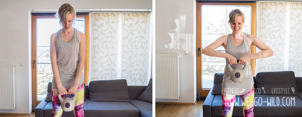 kettlebell training die 9 besten kugelhantel bungen f r anf ngerinnen. Black Bedroom Furniture Sets. Home Design Ideas