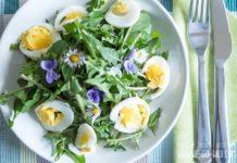 löwenzahn salat rezept mit ei