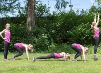 fitnessübung burpees