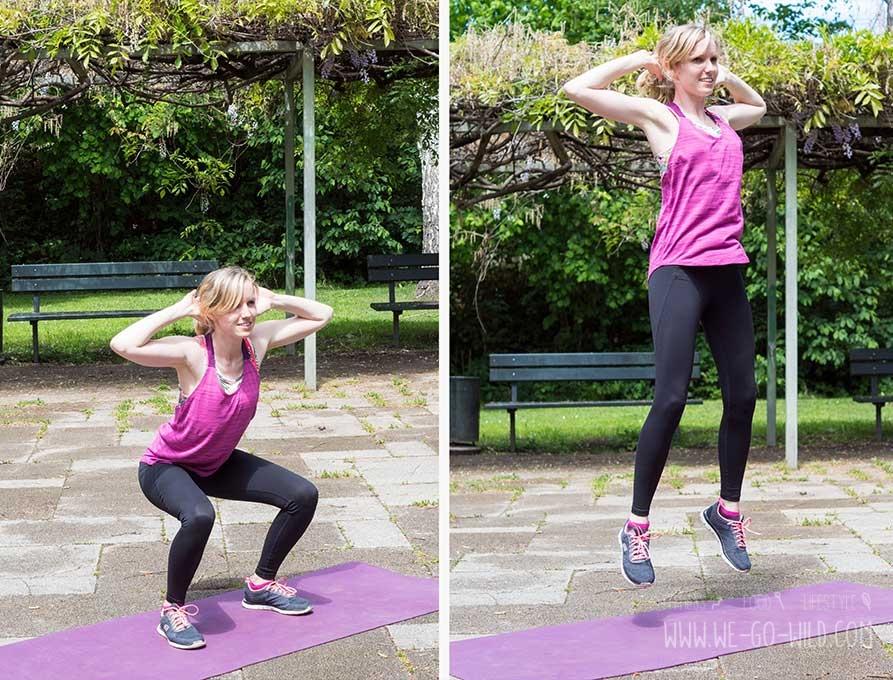 po training squat jumps