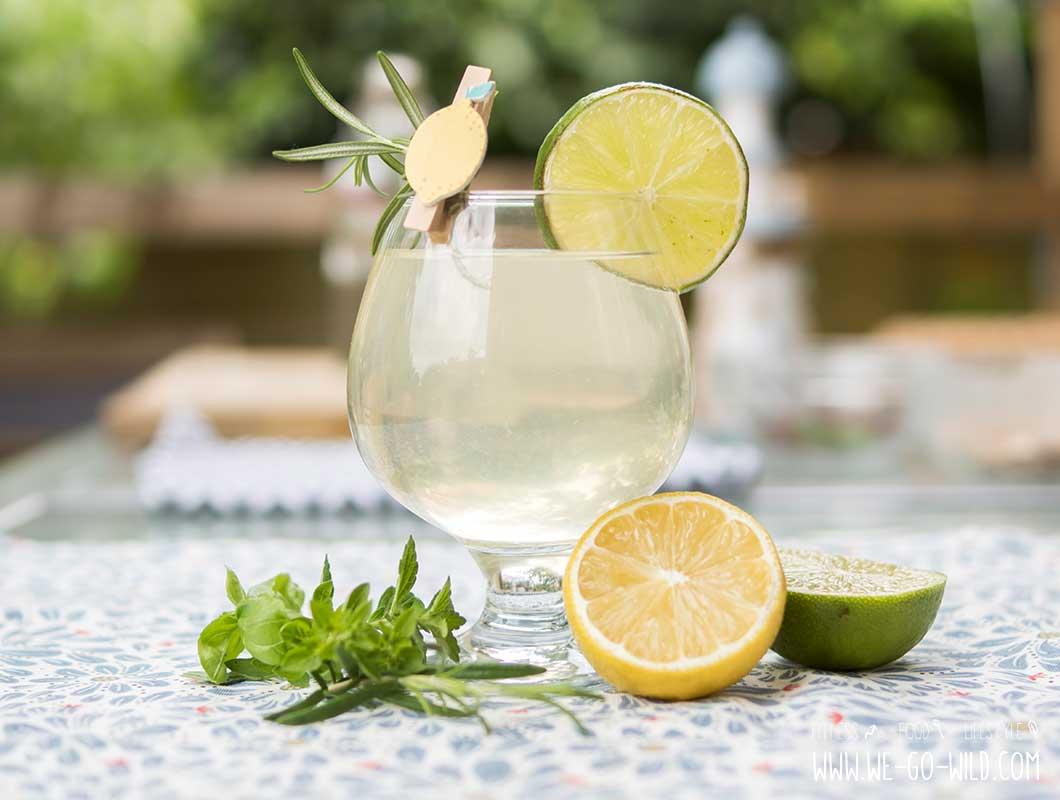 Kräuter Limonade selber machen
