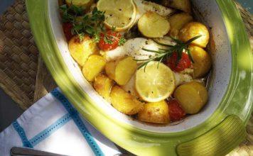 Zitronenhänchen aus dem Ofen One Pot