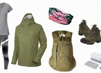 wandern outfit
