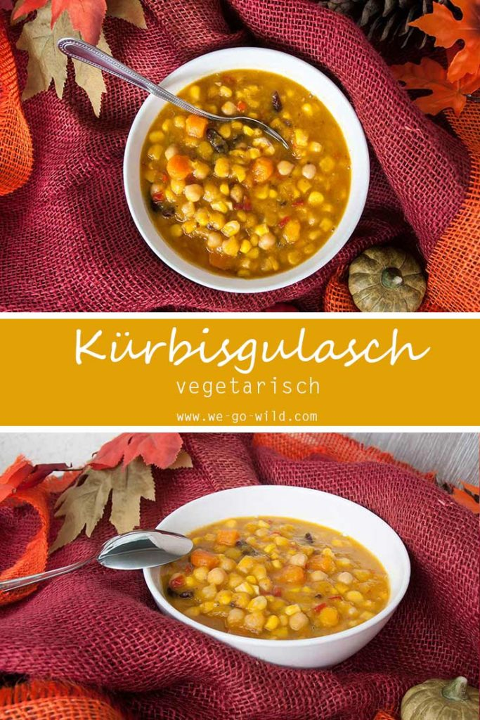 Kürbisgulasch vegetarisch