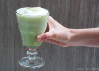 Entzündungshemmender Tee: Matcha Latte