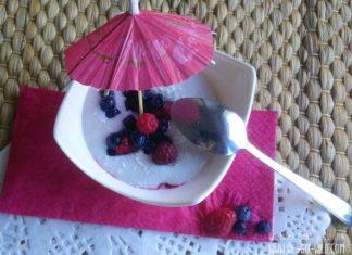 Laktosefreie und vegane Sahne Alternative: Kokossahne aus Kokosmilch