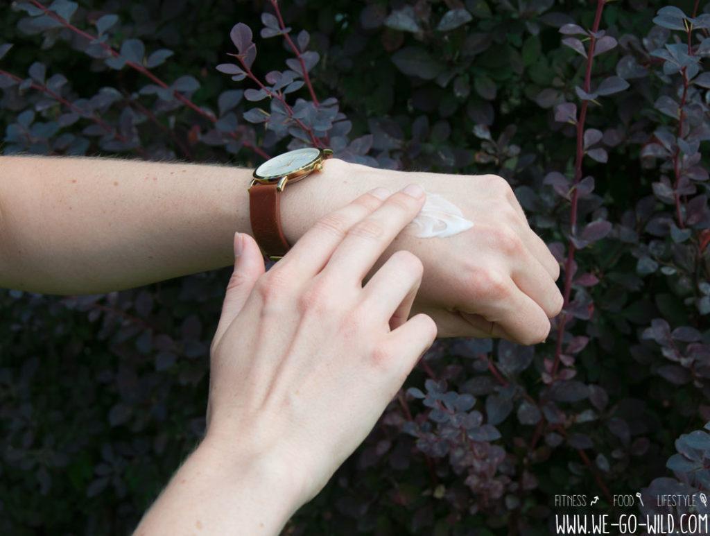 Trockene Haut im Herbst