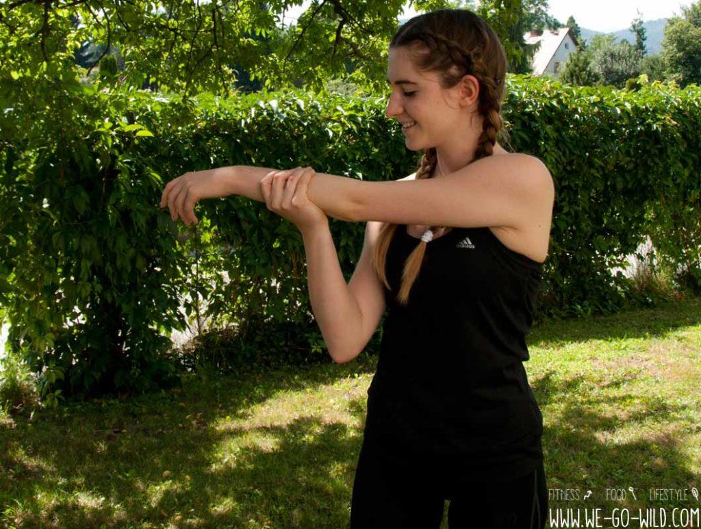 Cool Down Übungen für die Arme