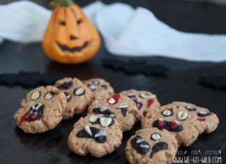 Gruselige Halloween Kekse backen