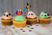 Halloween Muffins mit Xylit