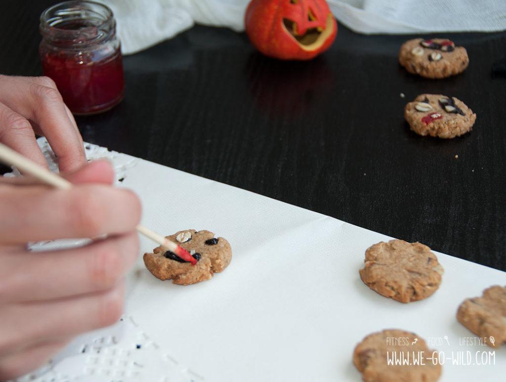 schaurig gesunde halloween kekse ohne zucker. Black Bedroom Furniture Sets. Home Design Ideas