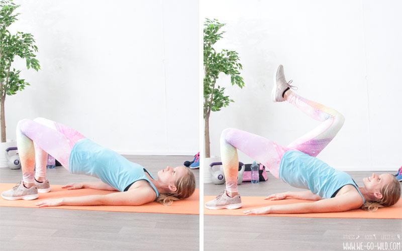 Hexenschuss Übung für einen starken Rücken