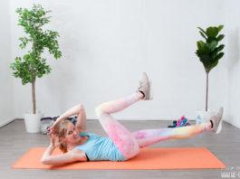 Hüftspeck Übungen: Crunch zum Abnehmen