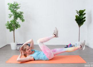 Bauch Beine Po Übungen - Crunch