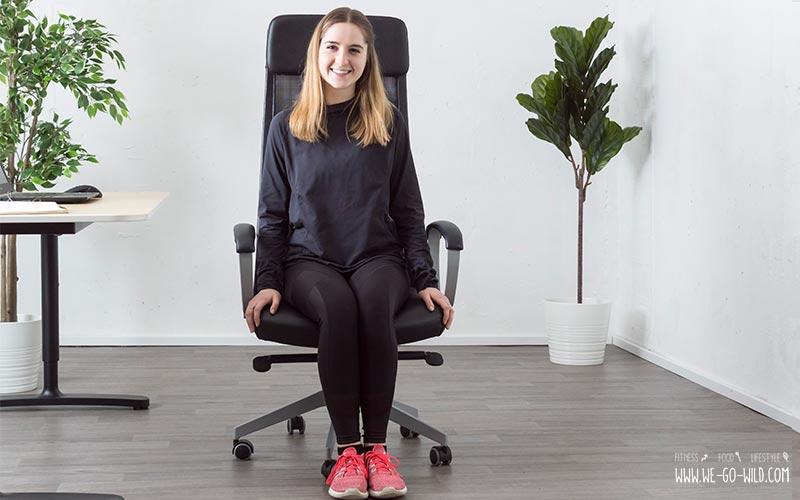 300 kalorien verbrennen im b ro ohne sport abnehmen bei der arbeit. Black Bedroom Furniture Sets. Home Design Ideas