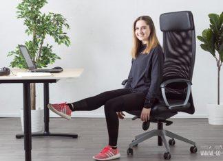 Po Übungen im Sitzen fürs Büro