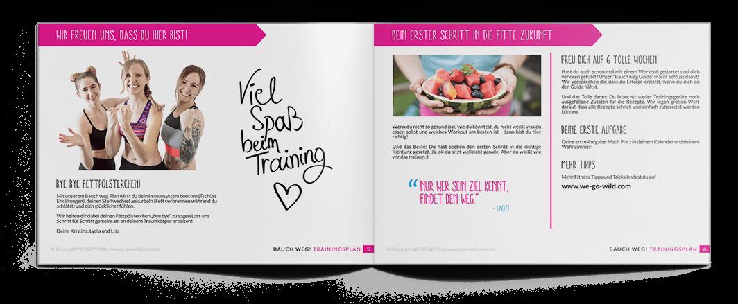 Bauch weg Training: Trainingsplan für den flachen Bauch