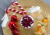 Schichtdessert für ein vegetarisches Weihnachtsessen