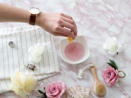 Rosen Badeöl selber machen