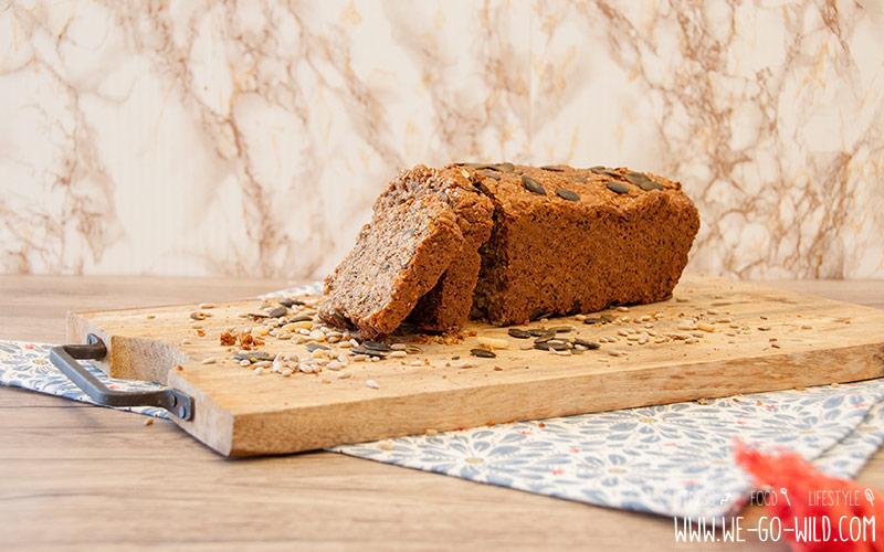 Low Carb Brot Fitnessbrot Eiweißbrot-Rezept-mit-Quark