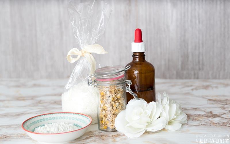 Duschgel selber machen mit Mandelöl