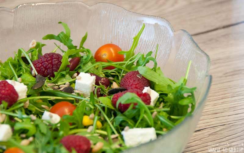 hilft dir Salat, zu verdauen