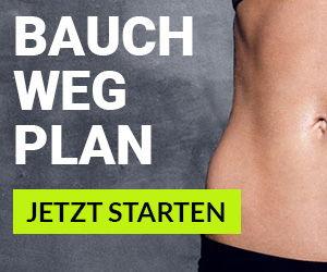 Bauch weg Trainingsplan von We Go Wild - in 6 Wochen zum flachen Bauch