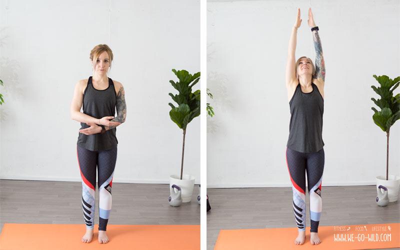 Yoga am Morgen zum Munterwerden: Sonnengruß als Morgenyoga Übung