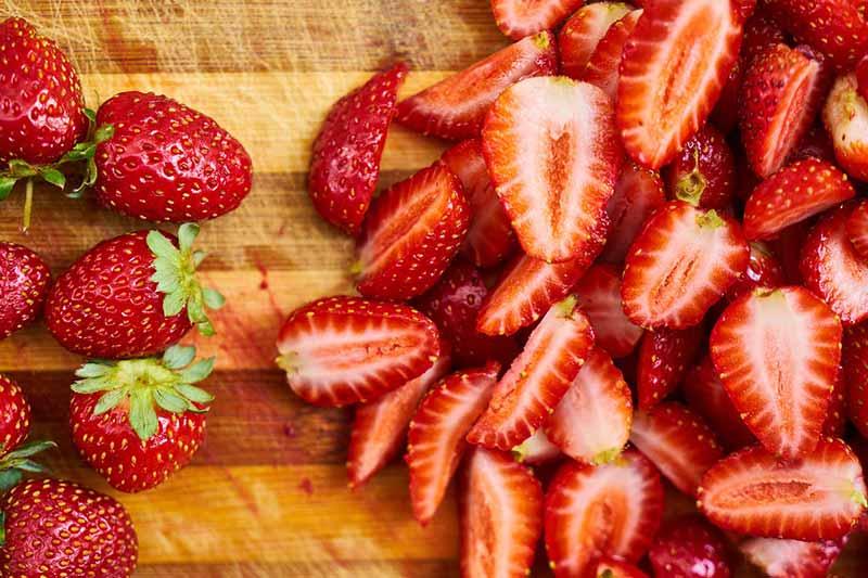 Abnehmen ohne Hunger mit Erdbeeren