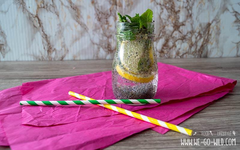 Basilikum Samen Getränk: Superfooddrink mit Basilikumsamen
