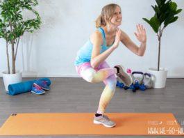 Einbeinige Squats Übungen
