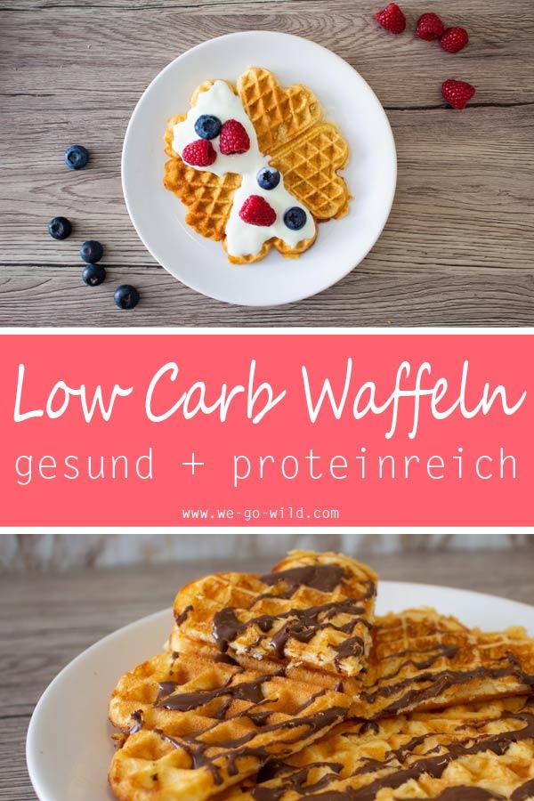 Low Carb Waffeln mit Proteinpulver