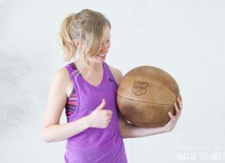 Medizinball Übungen für zuhause