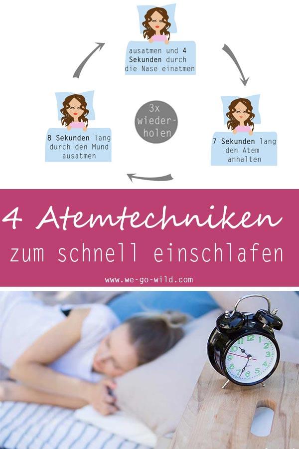 Atemtechnik einschlafen